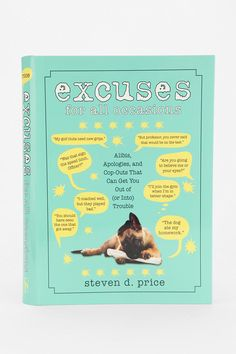 $12.95.   Excuses For All Occasions By Steven D. Price