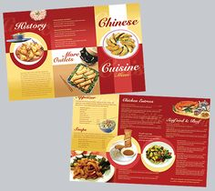 14 Best Booklets And Menu Cards Images Lunch Chart Menu Cards