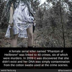 Fake serial killer Scary Horror Stories, Short Creepy Stories, Spooky Stories, Haunting Stories, Fun Facts Scary, Creepy Facts, Creepy Things, Scary Stuff, Haunted History