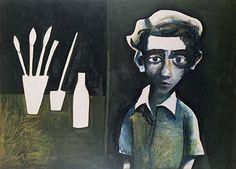 Making History: Charles Blackman - Art Collector Australian Artists, Art Gallery, Modernism, History, Preston, Galleries, Portraits, Paintings, Image