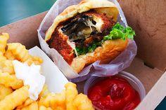 'Shroom burger, Shake Shack (New York City)