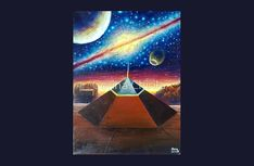 The Cydonia D&M pyramid on Mars