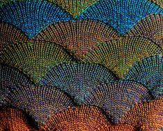 Strickanleitung Muschelmuster f.d. Strickmaschine von MaschenKreativ auf DaWanda.com