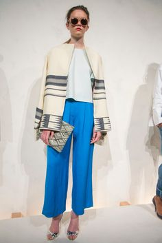 A look from the J. Crew Spring 2015 RTW collection.