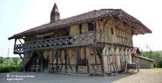 Bourg-en-bresse, ferme, Ain, France.