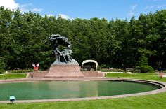 Frederic Chopin Monument, Royal Baths Park, Warsaw, Poland | Flickr - Photo Sharing!
