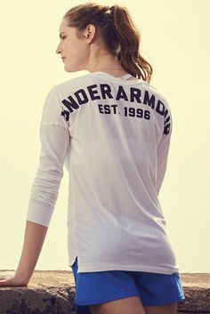 UA Favorite Wordmark. The perfect long-sleeve tee to take you to and from.