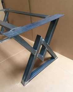 Custom order for Lauri Israel, The Diamond Dining Table Base, Industrial Base, Sturdy Heavy Duty Dining Table Base Industrial Style Dining Table, Industrial Design Furniture, Iron Furniture, Steel Furniture, Concrete Table Top, Steel Table, Table Legs, Interior Design Living Room, Boat Plans
