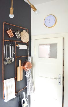 30 absolut geniale Interior Ideen aus Kupferrohren zum nachmachen ...