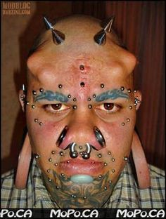 What Do You Think of Extreme Body Modification?