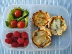 Leftovers for lunch - Pizza Tarts
