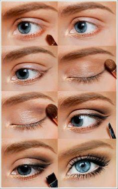 motivational trends: beautiful eye makeup idea