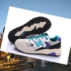 New Balance 580 donne Grigio Blu Bianco Scarpe Race Italia 's desiderio di  portare l