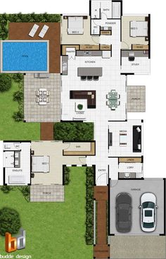 Create high quality, professional and Realistic colour floor plans from our range of plan symbols & Colour Floor plan Symbols Dream House Plans, Modern House Plans, House Floor Plans, Courtyard House Plans, Home Design Plans, Plan Design, Floor Plan Symbols, Custom Floor Plans, Architectural Floor Plans