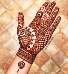 64 Latest Peacock Mehndi Design to try in 2018 for hands and feet - Wedandbeyond<br> Henna Hand Designs, Mehndi Designs Finger, Peacock Mehndi Designs, Mehandhi Designs, Simple Arabic Mehndi Designs, Latest Bridal Mehndi Designs, Full Hand Mehndi Designs, Mehndi Designs 2018, Beautiful Mehndi Design