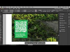 How To Create QR Codes Using Adobe InDesign CC - YouTube