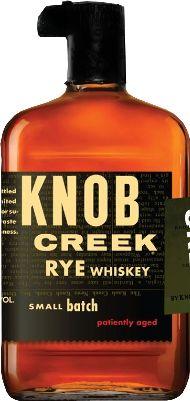Knob Creek Introduces Super Premium Rye Whiskey