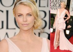 Charlize Theron- Golden Globes