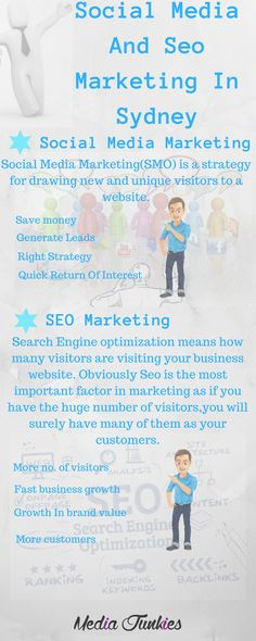 Social Media and SEO marketing are two factors which you must have to adopt if you want a healthy growth in your business. Media  Junkies have all the social media and seo strategies to give you the desired results on your business promotions. We always try best techniques to give your business what it wants to grow.