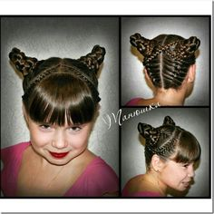 Would be great for Halloween or crazy hair day Holiday Hairstyles, Cute Hairstyles, Braided Hairstyles, Halloween Hairstyles, Fairy Makeup, Mermaid Makeup, Makeup Art, Crazy Hair Days, High Fashion Makeup