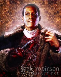 This is so awesome! Tony Todd as Candyman art.