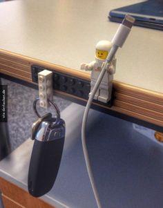 Lego kabel Befestigung