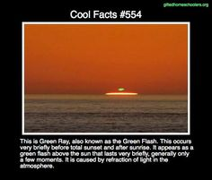 Cool facts #554  http://en.wikipedia.org/wiki/The_Green_Ray