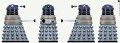 City Dalek Elite by Librarian-bot on DeviantArt Doctor Who Art, Sci Fi Models, Electric Fires, Wooden Sheds, Dalek, Time Lords, Dr Who, Photoshop Elements, Tardis