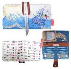 Sea Breeze Wallet Purse by Disaster Designs Luggage Accessories, Women Accessories, Quirky Christmas Gifts, Disaster Designs, Maritime Museum, Purse Wallet, Breeze, Purses And Bags, Gifts For Her