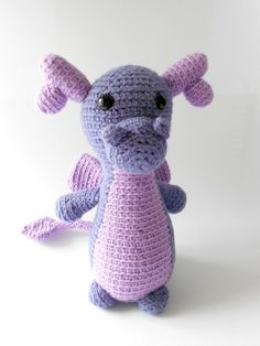 Free Amigurumi Crochet Patterns  Dragon Crochet Pattern