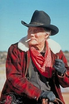 Cowboy...Jack Palance... tough guy... to the last...