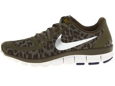 nike women's free 5.0 v4 medium olive/dark