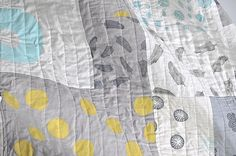 Love Maze and Vale's handprinted quilts