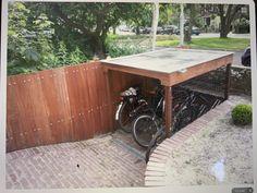 Outdoor Bike Storage, Bike Shed, Bike Store, Outdoor Furniture, Outdoor Decor, Interior And Exterior, Deck, Yard, Home Decor