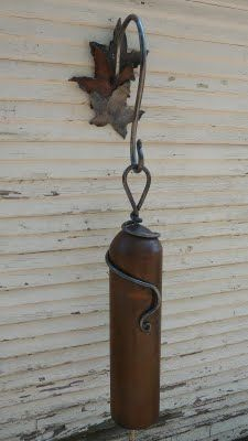 Living Iron: Oxygen Acetylene Bell...wonder if I can make this with an expired fire extinguisher?