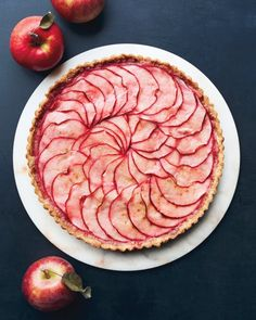Pink-Applesauce Tart Recipe