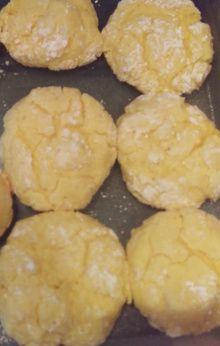 Lemon Crinkles. So, so good! Crinkles, Goat Cheese, Muffin, Lemon, Baking, Breakfast, Sweet, Desserts, Recipes