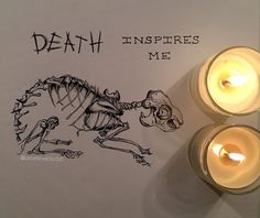 ..:: like a døg inspires a rabbit::.. I wanted a third thing to post that kind of matched the other 2 so that it didn't look out of place on my profile so I did this! Also I referenced a photo on Pinterest because let's be honest I can't draw a rabbits skeleton by memory considering I had never seen one before 😂😂 #cliqueart #skeletonclique