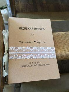 Liedheft für die kirchliche Trauung im Vintagestil. #hochzeit - #die #für #Hochzeit #im #kirchliche #Liedheft #Trauung #VintageStil
