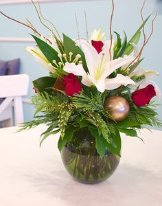 modern christmas florals - Google Search