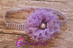 Baby Headband  Easter Headband  Newborn by MyButterflyBoutique, $8.00