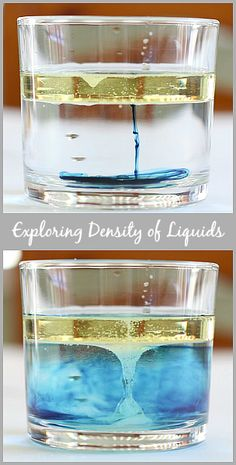 Cool Science for Kids: Exploring the Density of Liquids~ BuggyandBuddy.com