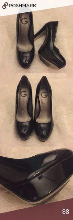 Stiletto heels Good condition  There are a couple minor wear which is pictured G by Guess Shoes Heels