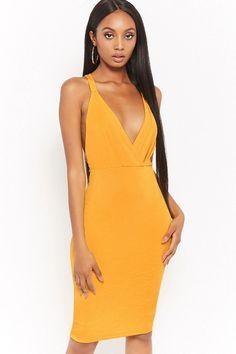 Product Name:Crisscross-Back Surplice Dress, Category:dress, Price:28