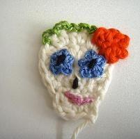 Sugar Skull Applique