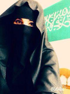 Saudi Niqabi.