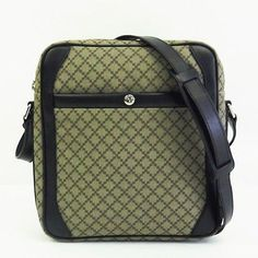 Auth Gucci Shoulder bag Diamante PVCCalf BeigeBlack 268159 Purse 209631 (eBay Link)
