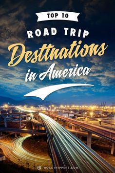 Top 10 Road Trip Destinations in America. Labor Day weekend is your last chance to get in a summer road trip! #top10traveldestinationsinamerica #TravelDestinationsUsaTop10