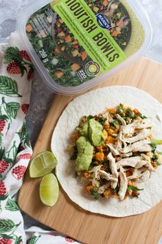 Did you grab a Southwest Chipotle Nourish Bowl off the shelves at your local supermarket? See how you can make three different meals by using the Southwest Chipotle Nourish Bowl. Chipotle Tacos, Chipotle Chicken, Tortilla Wraps, Chicken Wraps, 30 Minute Meals, Guacamole, Easy Meals, Ethnic Recipes, Food
