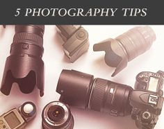 5 must know photography tips.